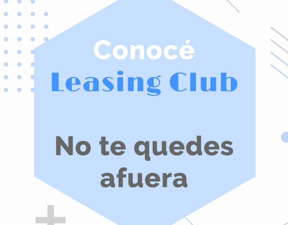Conocé Leasing Club