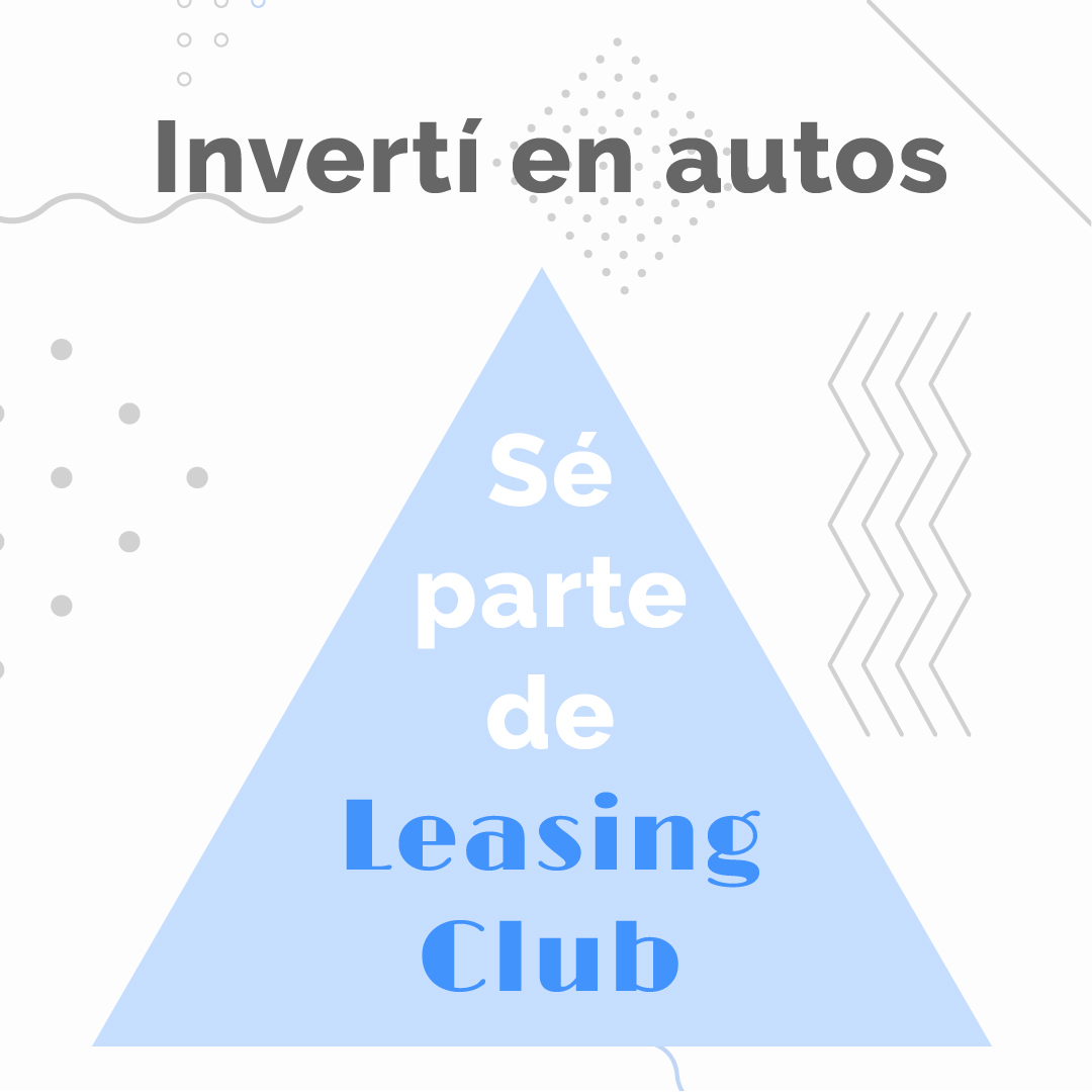 Sé parte de Leasing Club